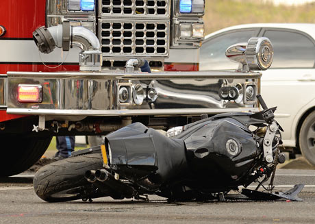 Have you been in a motorcycle accident?