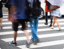 Have you been in a pedestrian accident?