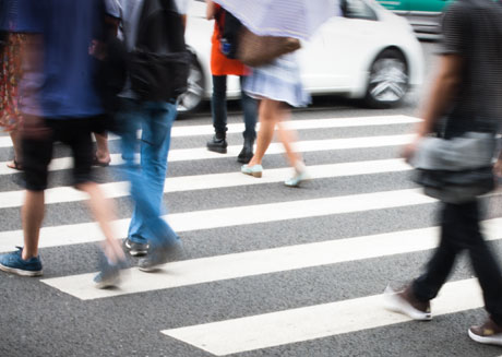 Have you been a victim in a pedestrian accident?