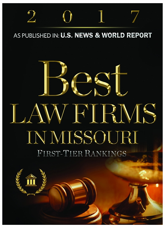 2017 Best Law Firms in Missouri distinction